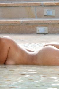 Adriana Luna White Bikini 13