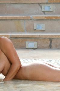 Adriana Luna White Bikini 14