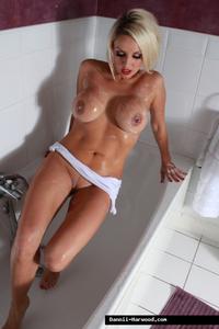 Dannii Harwood Luscious Wet Boobs 09