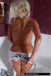 Dannii Harwood Luscious Wet Boobs 13