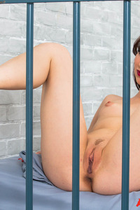 Hot Prostitute Aria Alexander Strips In The Jail 13