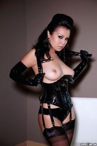 Caroline Aquino Black Corset 14