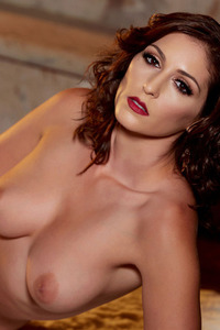 Glam Babe Carlotta Champagnestrips By The Fireplace 13