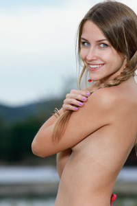 Perky Titted And Natural Beauty Babe Violet 03