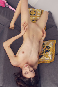 Adel Morel Strips And Masturbates 12