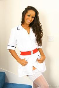 Teri M Sexy Ebony Nurse 00
