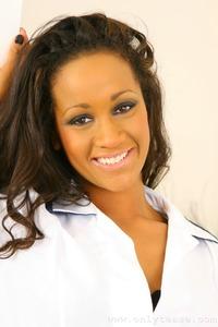 Teri M Sexy Ebony Nurse 01