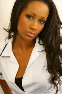 Teri M Sexy Ebony Nurse 06