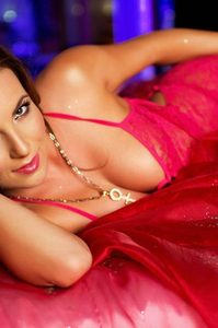 Brunette Babe Jenna Rose Posing In Hot Lingerie 06