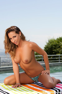 Krista Nicole Strips Off Her Sexy Bikini 06