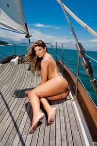 Busty Playboy Babe Viviane Bordin 02