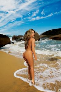 Busty Playboy Babe Viviane Bordin 10