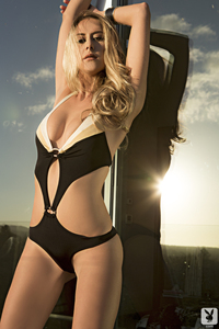Sexy Playboy Babe Anna Beletzki - Hanover Hunny 01