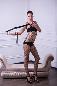 Hot Wild Teen Abigail A In Fishnet Set 00