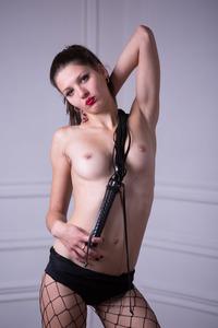 Hot Wild Teen Abigail A In Fishnet Set 03