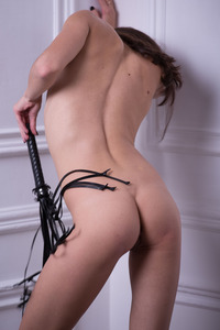 Hot Wild Teen Abigail A In Fishnet Set 13