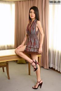 Skinny Brunette Asian Babe Christy Kee 01