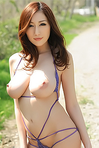 Big Tits Julia Shows Hairy Pussy