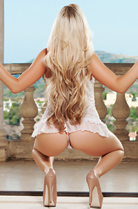 Chanel Elle Hot Blonde Playboy Babe
