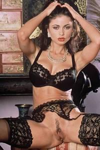 Veronika Zemanova Black Stockings 00
