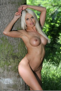 Sexy Lena Love Naked In The Forest 00