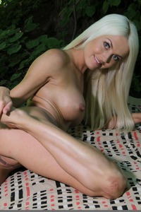 Sexy Lena Love Naked In The Forest 10