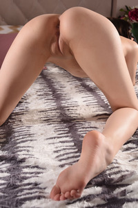 Brunette Cutie Lily Sands Undressing And Posing 07