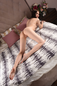 Brunette Cutie Lily Sands Undressing And Posing 08