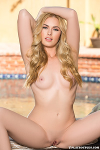 Perfect Blonde Playboy Babe Bailey Rayne 06