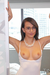 Skinny Latina Girl Janice Griffith Strips Off Her Sexy Bodysuit 04