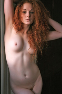 Bredon Michelle Has Red Curly Hair